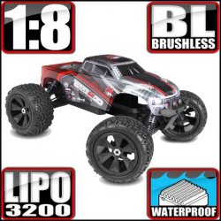 Redcat Terremoto V2 Brushless 4WD 1/8 RC Monster Truck