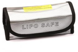 LiPo Guard Large Case (165x75x65mm) for Charging & Storage