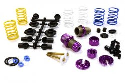 Integy XSR11 Competition Racing Shocks for 1/10 RC Touring Cars C25910PURPLE