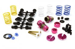 Integy XSR11 Competition Racing Shocks for 1/10 RC Touring Cars C25910PINK