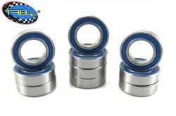 TRB RC  8x14x4mm Precision Ball Bearings APEC 3 Rubber Sealed (10)