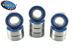 TRB RC  8x16x5mm Precision Ball Bearings APEC 3 Rubber Sealed (10)