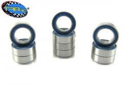 TRB RC  5x 8x2.5mm Precision Ball Bearings APEC 3 Rubber Sealed (10)