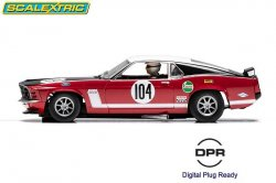 Scalextric Ford Mustang Boss 302 1:32 Slot Car C3926