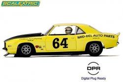 Scalextric Chevrolet Camaro 1969 1:32 Slot Car C3924