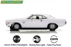 Scalextric Dodge Challenger 1970 1:32 Slot Car C3935
