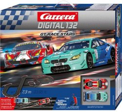 Carrera DIGITAL 132 GT Race Stars Slot Car Set