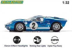 Scalextric Ford GT40 MKII Sebring C3916