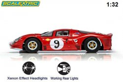 Scalextric Ferrari 412P Brands Hatch 1967 C3946