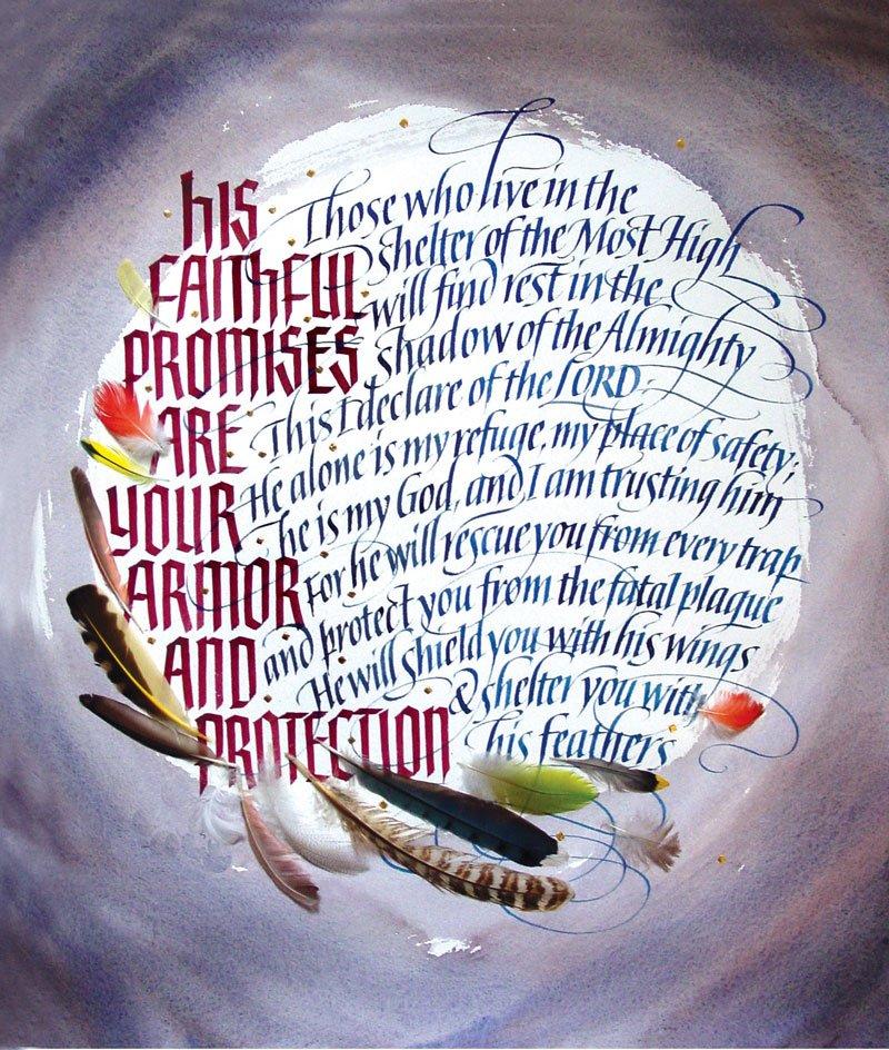 Psalm 91 1 4 415
