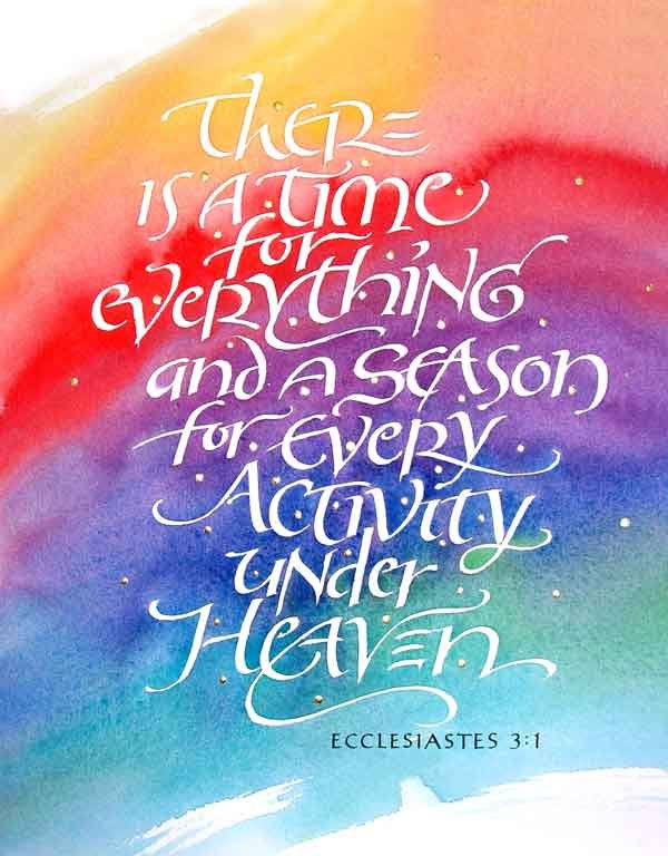 Ecclesiastes 3 1 419