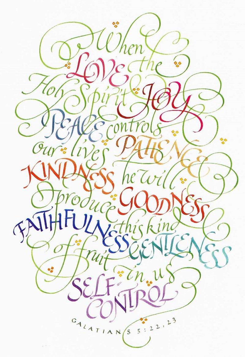 Galatians 5:22 & 23