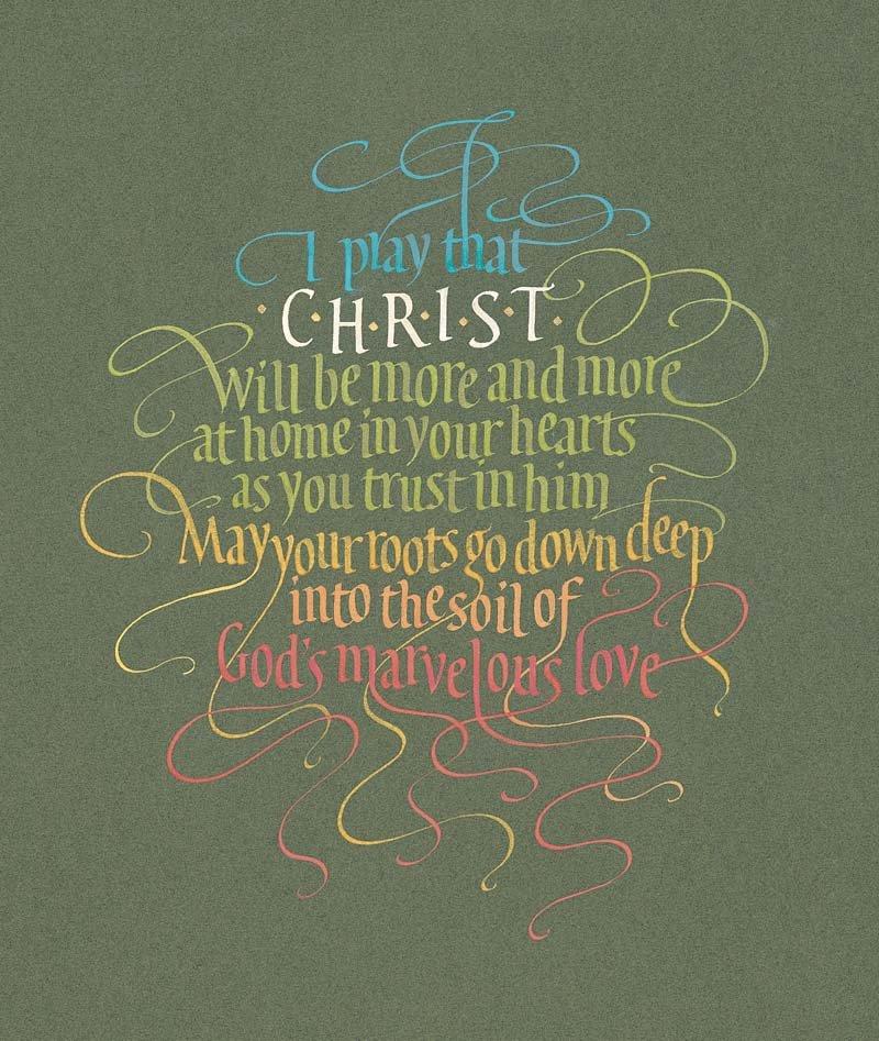 Image 0 of Ephesians 3:17 #439