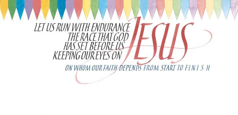 Image 0 of Hebrews 12:1,2 #445
