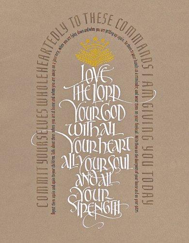Deuteronomy 6:6-9 by Tim Botts