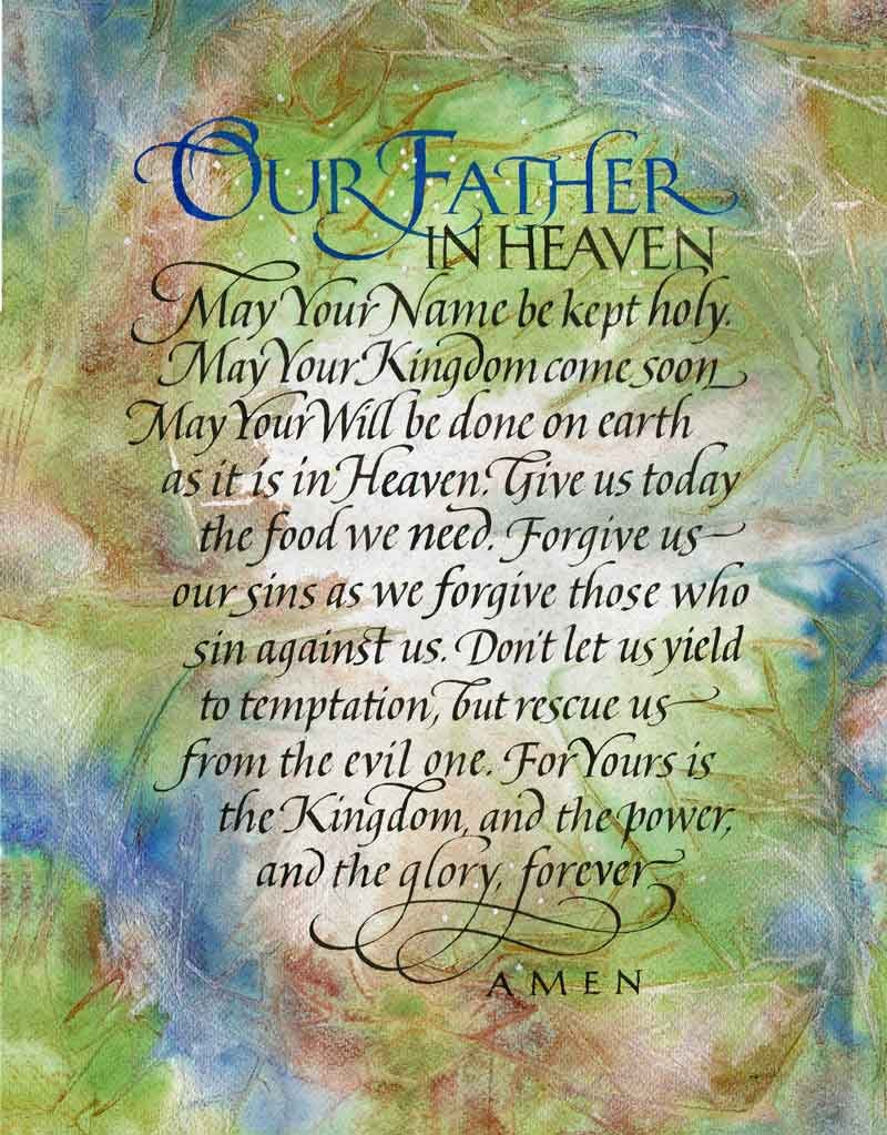 Image 0 of Matthew  6: 9-13 - The Lord's Prayer #359