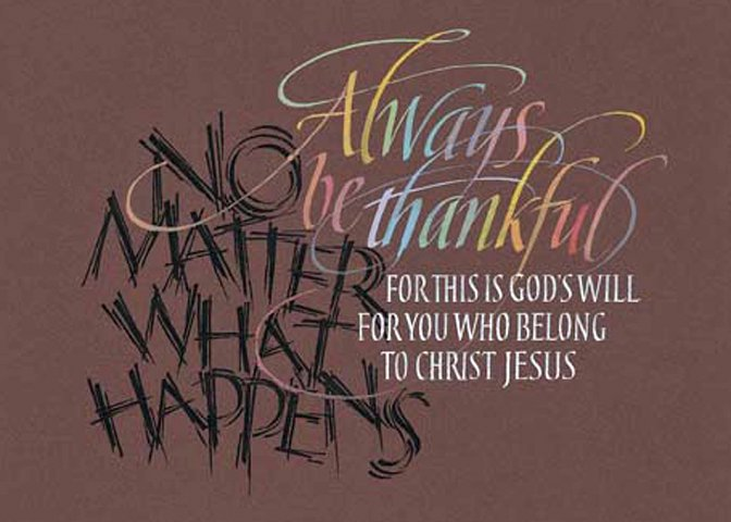 Image 0 of Thessalonians, 1 - 5:18 #801