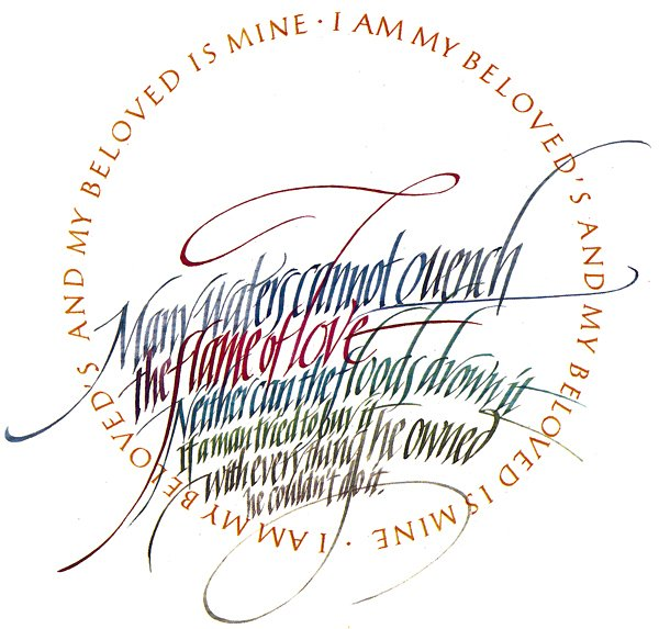 Calligraphy by Timothy R. Botts