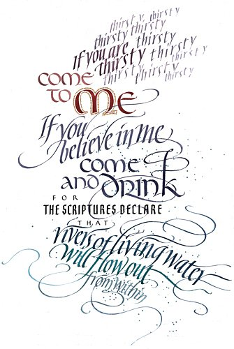 John 7:37-38 by Tim Botts