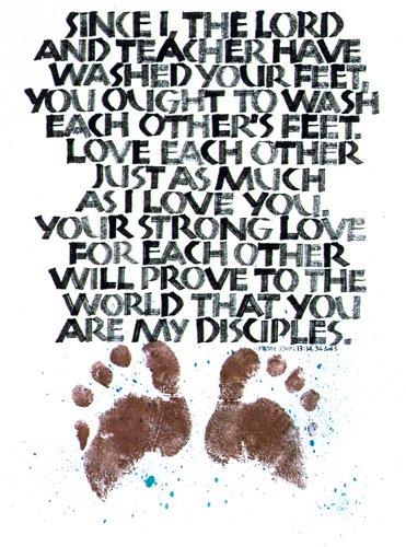John 13:14,34-35 by Tim Botts