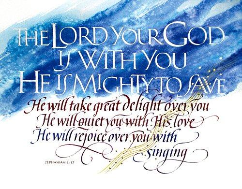 Zephaniah 3 17 B 1172