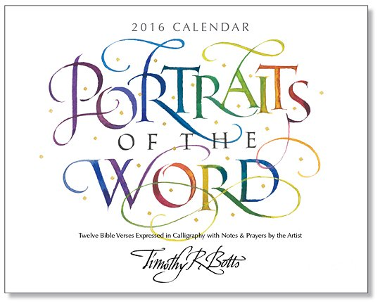 Image 0 of Portraits of the Word - 2016 Calendar #2005