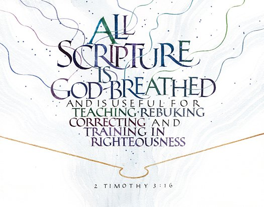 2 Timothy 3:16 by Tim Botts