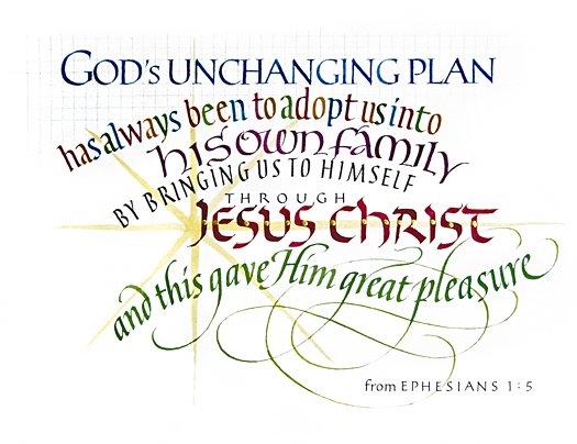 Ephesians 1:5 by Tim Botts