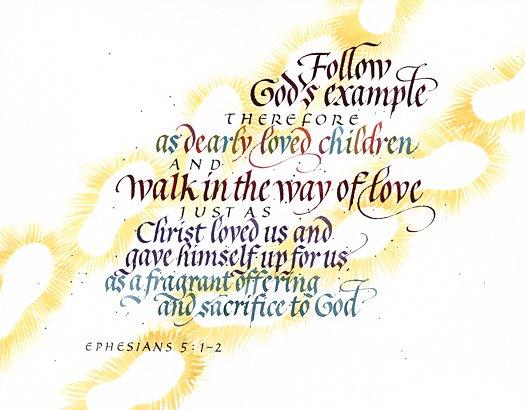 Ephesians 5 1 2 1208