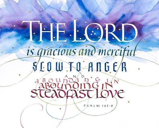 Psalm 145:8 by Tim Botts