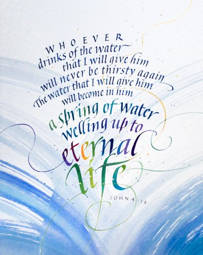 Calligraphy by Tim Botts