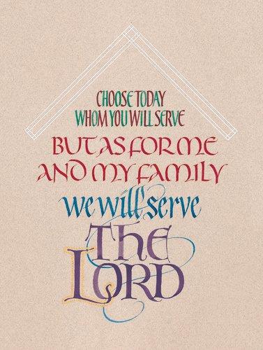 Joshua 24:15 B