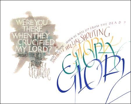 Calligraphy by Tim Botts