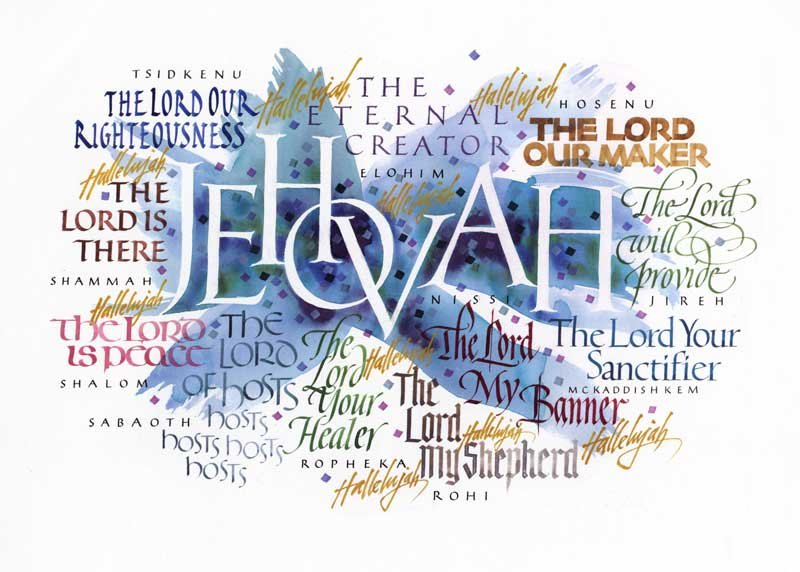 Names Of Jehovah 615