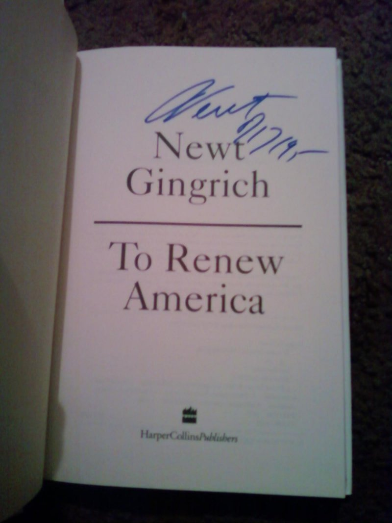 newt gingrich dissertation full text Newt gingrich: contract with america and speaker of the housefor helping draft the  contract with america , a document outlining legislation to be enacted by the house within the first 100 days of the 104th congress.