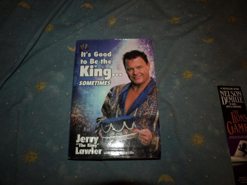 Image 0 of Its Good to Be the King...Sometimes by Jerry Lawler Signed 1st edition WWF WWE