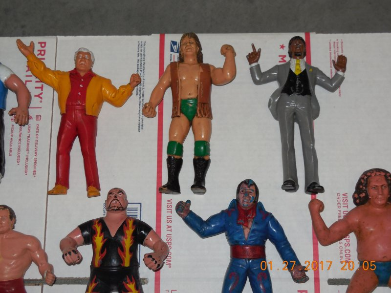 Image 6 of WWF LJN HUGE collection of 40 different figures Vintage 80's
