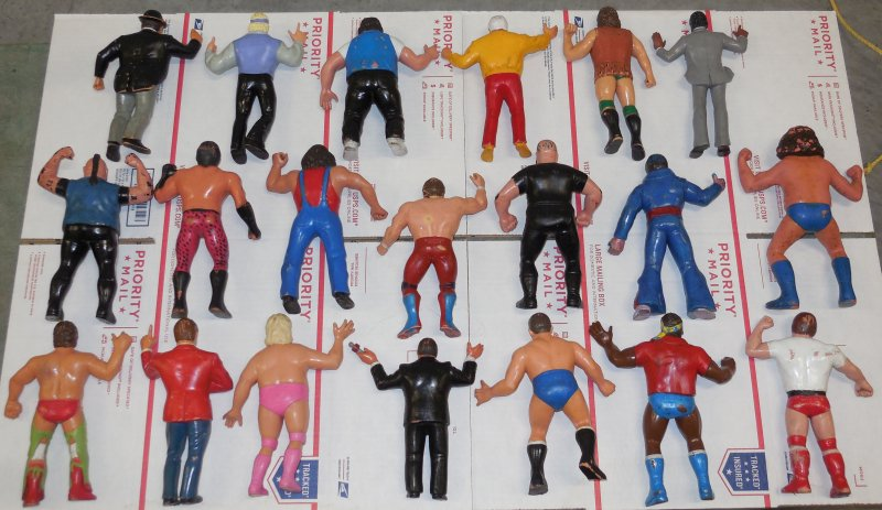 Image 7 of WWF LJN HUGE collection of 40 different figures Vintage 80's