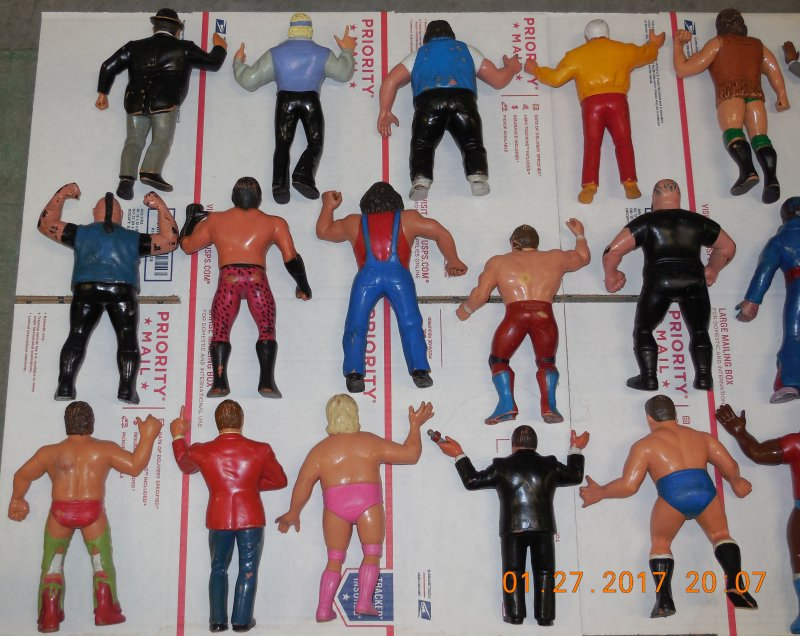 Image 8 of WWF LJN HUGE collection of 40 different figures Vintage 80's