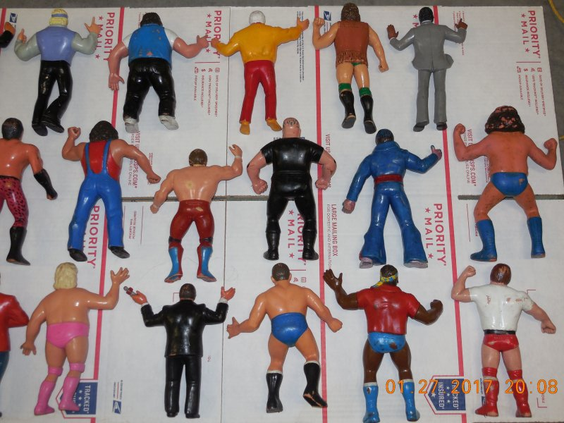 Image 9 of WWF LJN HUGE collection of 40 different figures Vintage 80's