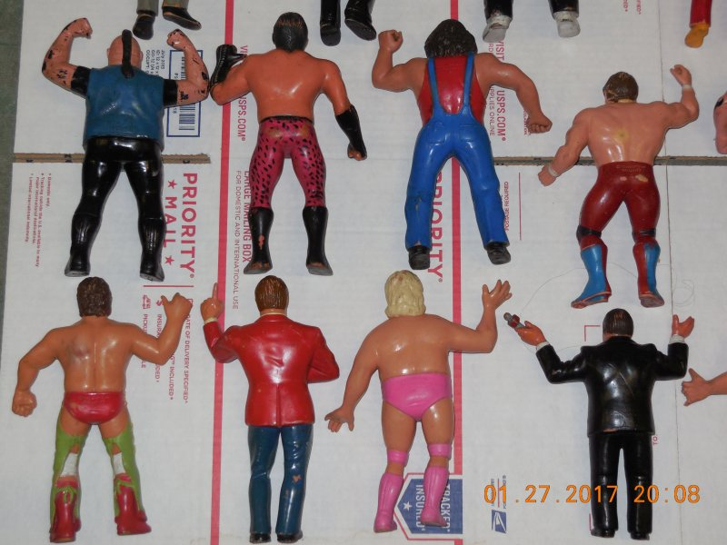 Image 10 of WWF LJN HUGE collection of 40 different figures Vintage 80's