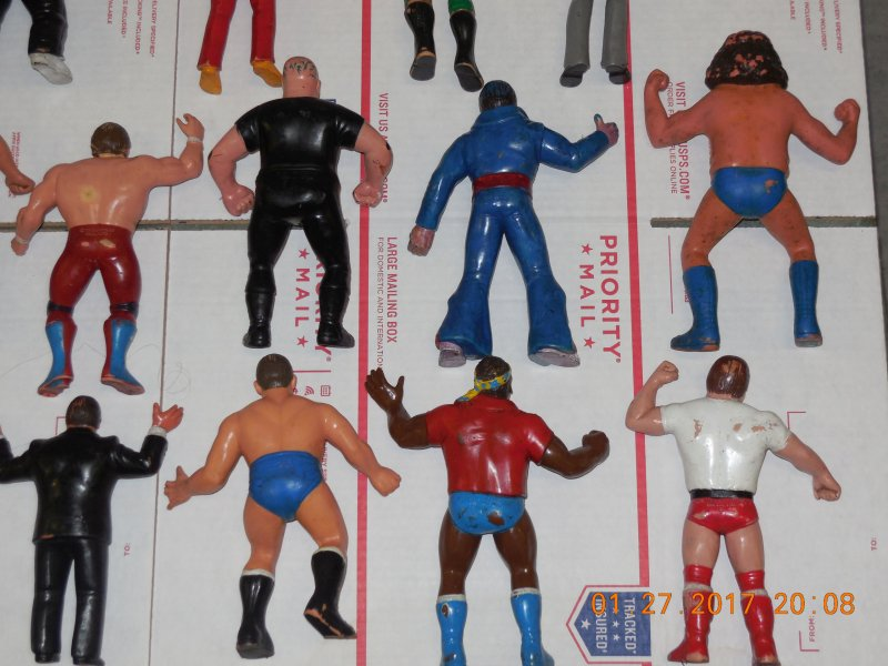 Image 11 of WWF LJN HUGE collection of 40 different figures Vintage 80's
