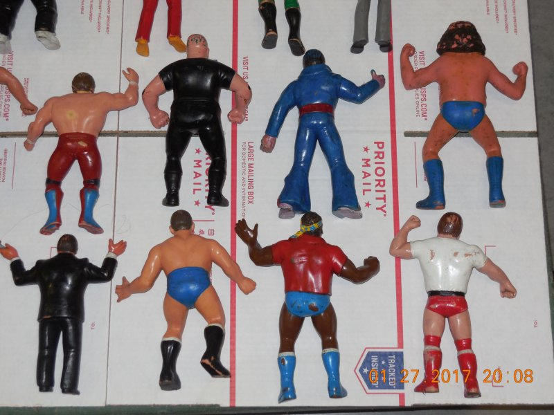 Image 12 of WWF LJN HUGE collection of 40 different figures Vintage 80's