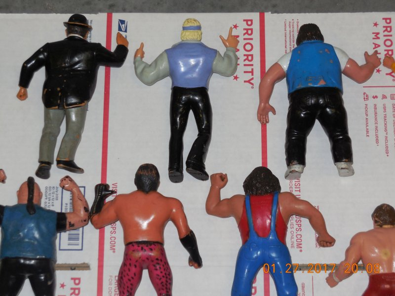 Image 13 of WWF LJN HUGE collection of 40 different figures Vintage 80's