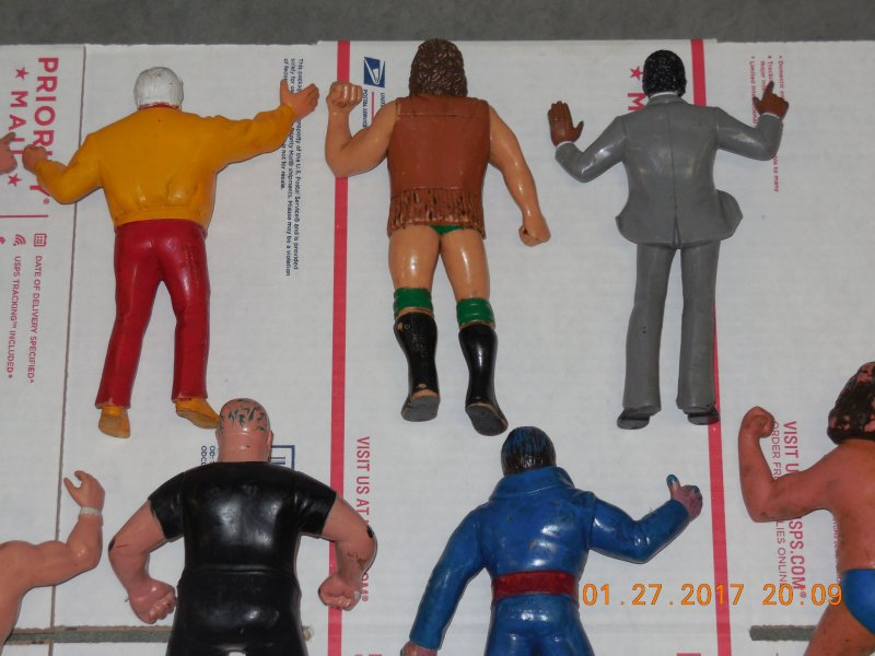 Image 14 of WWF LJN HUGE collection of 40 different figures Vintage 80's
