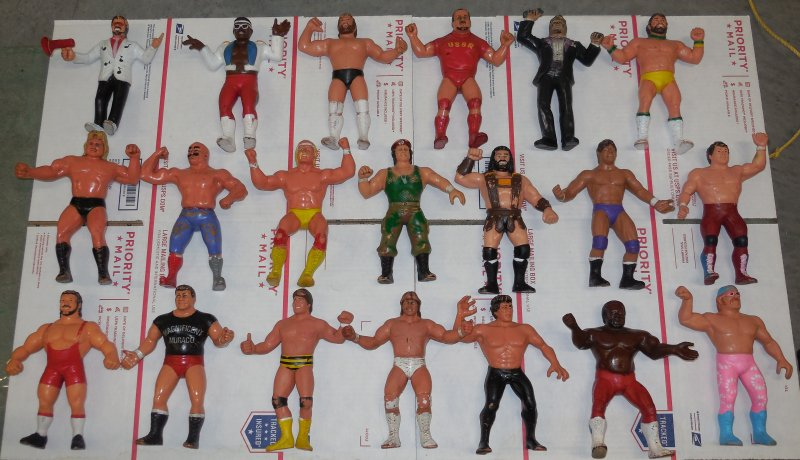 Image 15 of WWF LJN HUGE collection of 40 different figures Vintage 80's
