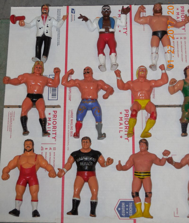 Image 16 of WWF LJN HUGE collection of 40 different figures Vintage 80's