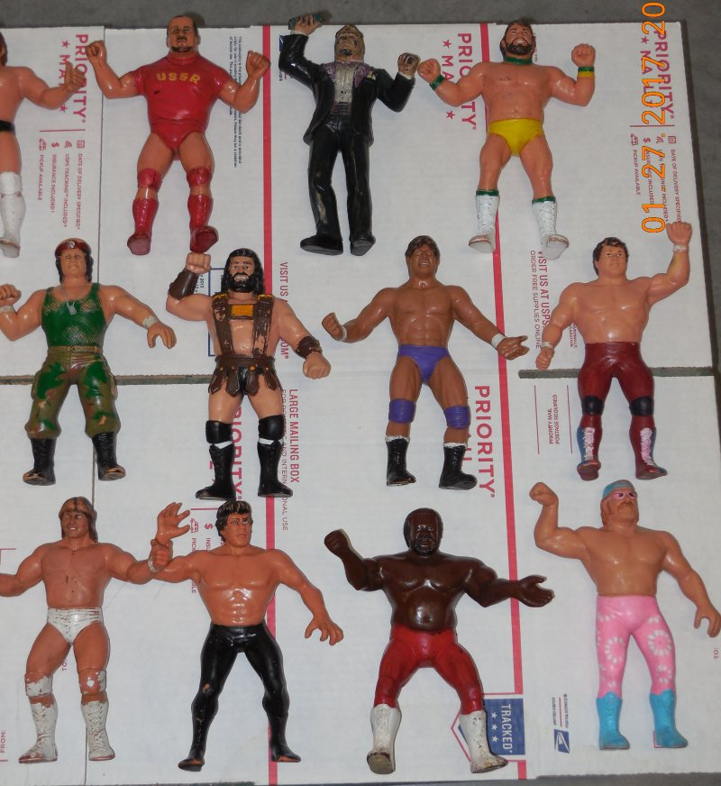 Image 17 of WWF LJN HUGE collection of 40 different figures Vintage 80's
