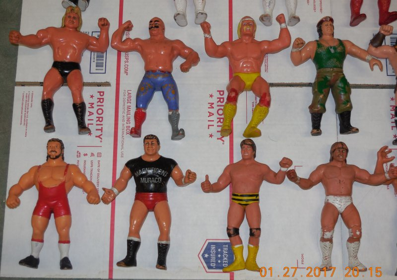 Image 19 of WWF LJN HUGE collection of 40 different figures Vintage 80's