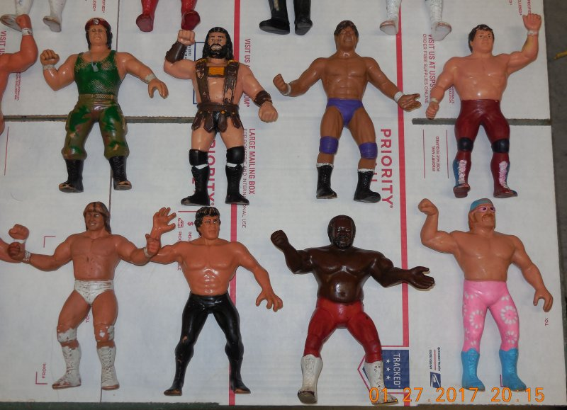 Image 20 of WWF LJN HUGE collection of 40 different figures Vintage 80's